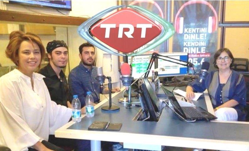 TRT Kent Günlüğü Programı'nın Konuğu Ramel Sanat Kadrosuydu